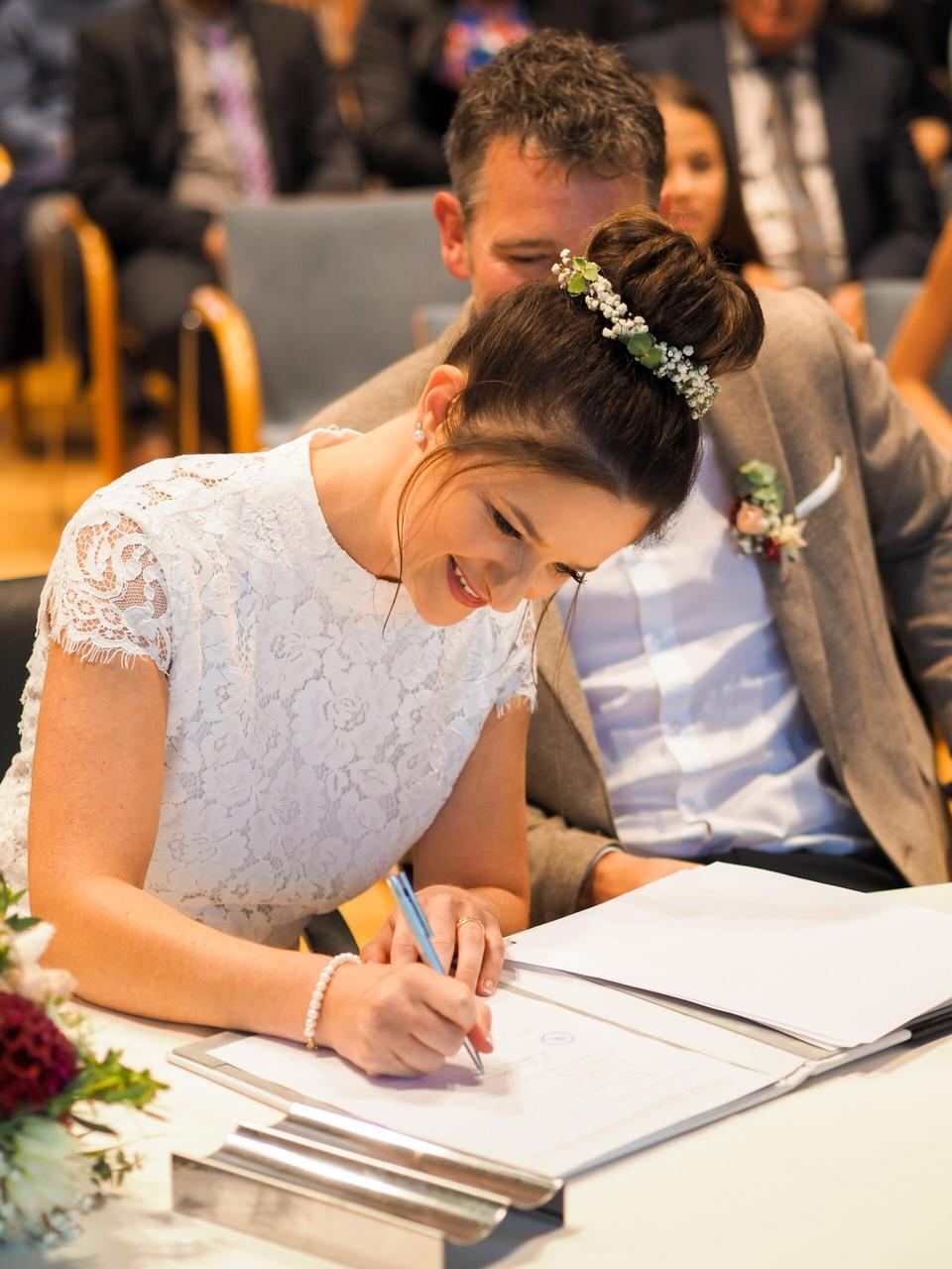 Hochzeit, Eheschließung, Standesamt